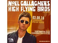 Noel Gallagher at Scarborough Open Air Theatre - Seated - White Section Row BB x 2 tickets