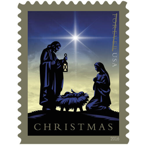 USPS New Nativity Booklet of 20