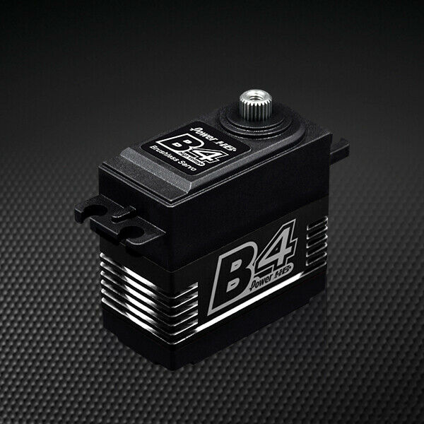 POWER HD B4 HV Brushless Motor 347.1 oz  / .085 Titanium Gear Digital Servo