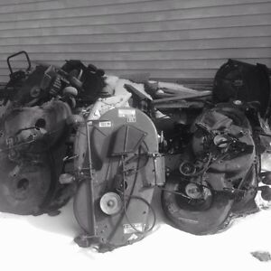Used lawn tractor parts