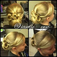 Hairstylist (updos&style) Calgary...I come to you