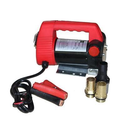 12 Volt Oil Fuel Transfer Pump Diesel Kerosene Biodiesel Pumpcast Car Tractor Us