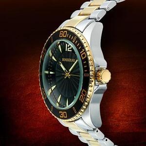 rousseau watch rousseau suter mens watch retails at 699 00 clearance