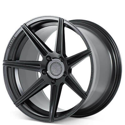 4ea 20x9/20x10 Ferrada Wheels F8-FR7 Matte Black Rims Fit Ford Mustang(S4)