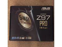 Asus Z97 motherboard spares