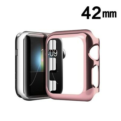 (Rose Gold Apple Watch Transparent Case with Package for APPLE watch 42mm)
