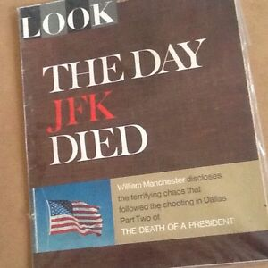 Death of USA President JF Kennedy - 'LOOK' Magazine (4 Issues) Belleville Belleville Area image 4