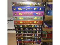 Simpsons seasons 1-13