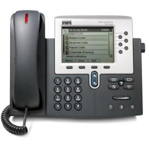 Cisco IP Phone 7941 - Business Phone - Multi-Line - Programmable Keys - CP-7941C