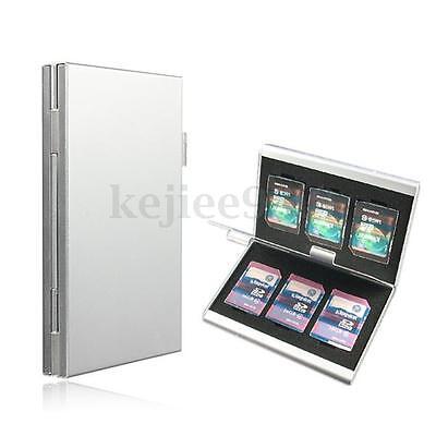 Micro SD SDHC SDXC Speicherkarten Tasche Case Box Etui Speicherkartenhülle 6in1