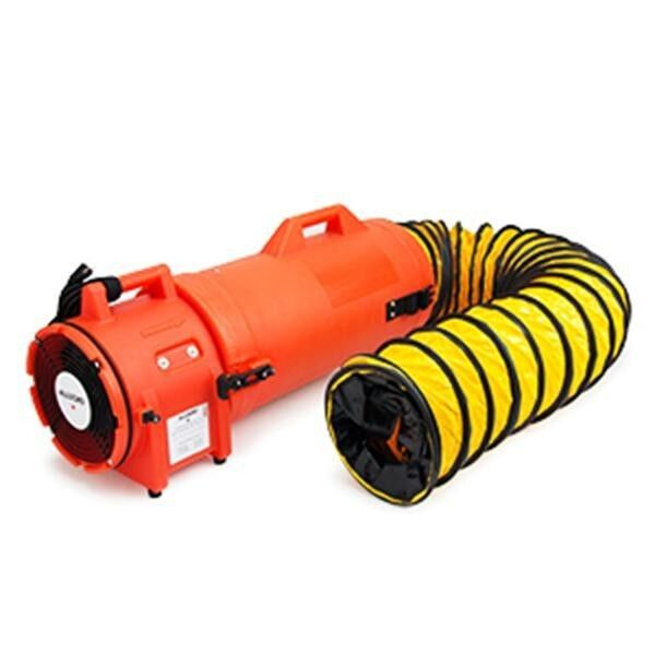 Allegro 9533-25 COM-PAX-IAL Confined Space Ventilation Blower W/ 25′ Ducting Air Handlers