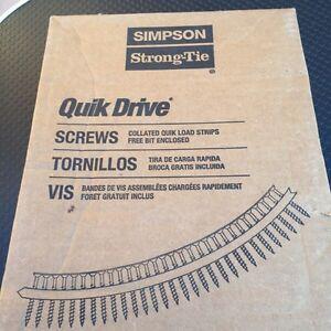"""Quick drive screws  """"Simpson"""" Windsor Region Ontario image 3"""