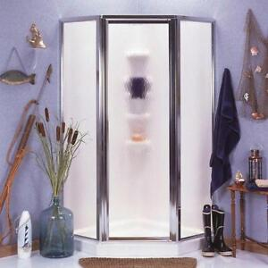 Maax Shower Solution 77-in H x 38-in W x 38-in L White Neo-Angle