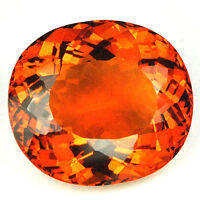 34.06ct EXCELLENT OVAL MADEIRA CITRINE