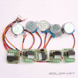 5pcs-DC-5V-Stepper-Motor-ULN2003-Driver-Test-Module-Board-28BYJ-48-for-Arduino