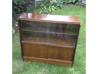 Lovely solid wood book case / cabinet