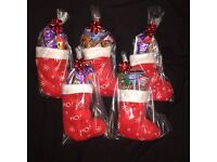 Santa mini sweet filled stocking