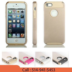 ARMOR BRAND 5/5S GOLD CASES FOR GOLD PHONE WITH NICE GIFT PACK