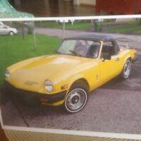 Triumph 1981 à vendre
