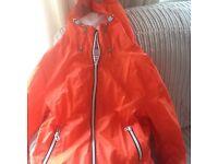 Next Orange Raincoat / summer jacket