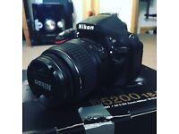 Nikon D5200 Camera SLR DSLR