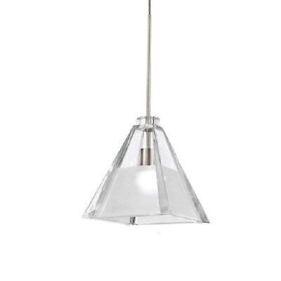 WAC Lighting European Tikal Monopoint 1 Light Glass Pendant Ceiling Fixture - Glass Monopoint Pendant