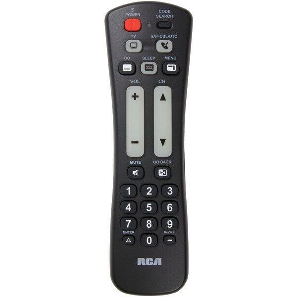 RCA RCRH02BR 2-Device Universal Remote