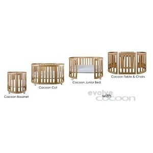 Cocoon Nest 4-in-1 Cot with mattress - BARELY USED Prahran Stonnington Area Preview