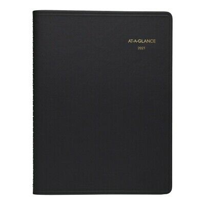 At-a-glance Weekly 13-month Planner 8-14 X 11 Black 7095005