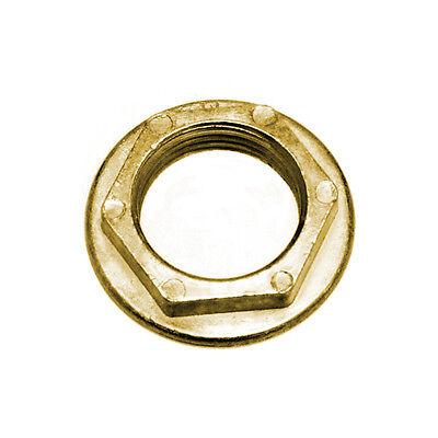 Draft Beer Flanged Shank Locknut - Kegerator Replacement Parts - Repair Lock Nut