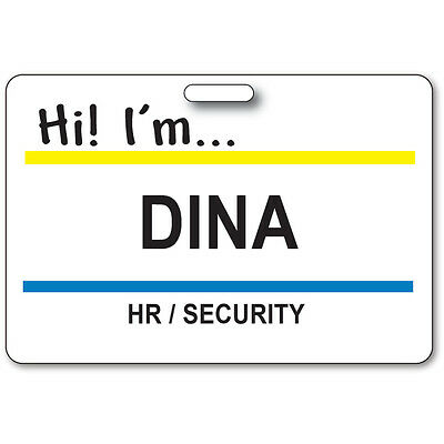 DINA HR / SECURITY BADGE & BUTTON HALLOWEEN COSTUME SUPERSTORE TV SHOW LANYARD](Costume Superstore)