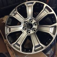 "22"" GMC accessory wheels for sale (new in box)"