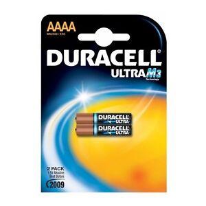 2x-Duracell-Ultra-M3-Ultra-AAAA-Alcalina-1-5v