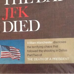Death of USA President JF Kennedy - 'LOOK' Magazine (4 Issues) Belleville Belleville Area image 5