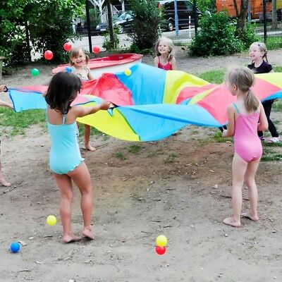 Schwingtuch-Spiel, Schwingtuch und 25 Bälle, Freizeitspaß für Kinder