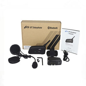 Motorcycle Helmet Bluetooth Intercom Headset Helmet Intercom