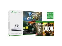 Xbox One S Console - Brand new with games bundle