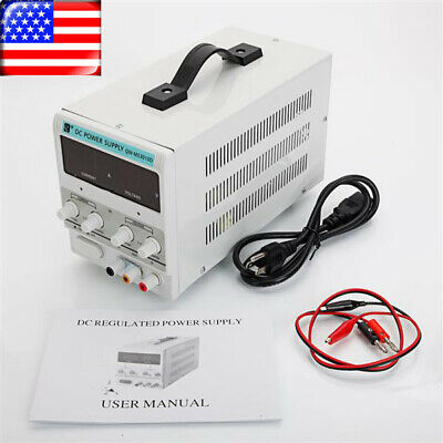 30v10a Dc Bench Power Supply Precision Variable Digital Adjustable Regulated Lab