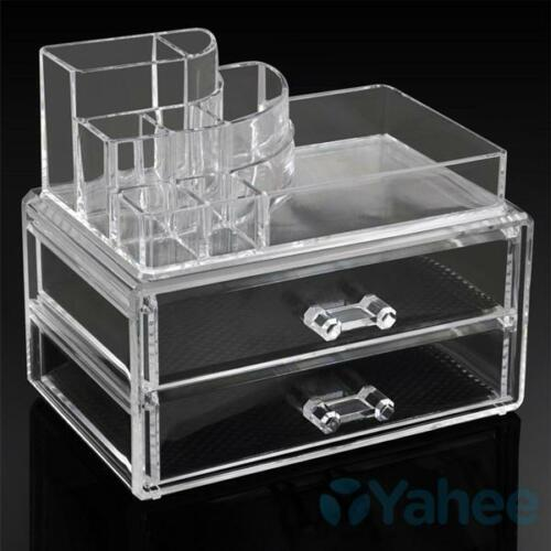 acryl kosmetik organizer schublade aufbewahrung schmuck lippenstifte nagellack ebay. Black Bedroom Furniture Sets. Home Design Ideas
