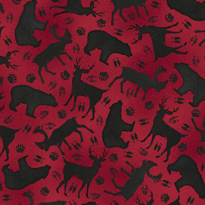 Moose Trail Lodge - FABRIC QT ~ MOOSE TRAIL LODGE ~ Audrey Jean Roberts (26684 R) by the 1/2 yard