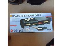 BIFINETT RACLETTE & STONE GRILL SET