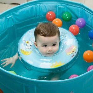 Baby Swimming Neck Float - Inflatable Tube Ring