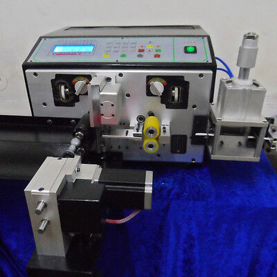 Automatic Wire Cutting Stripping Twisting Machinecable Stripper Twister