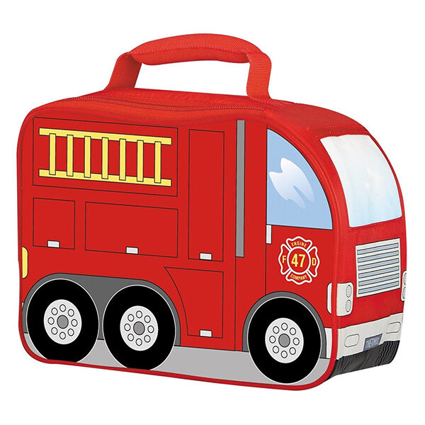 Thermos Novelty Firetruck Soft Lunch Kit