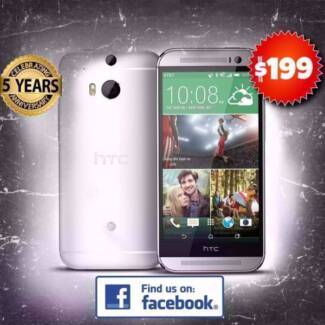 Pre-owned HTC one M8 Silver 16GB Brought to you by Phonebot