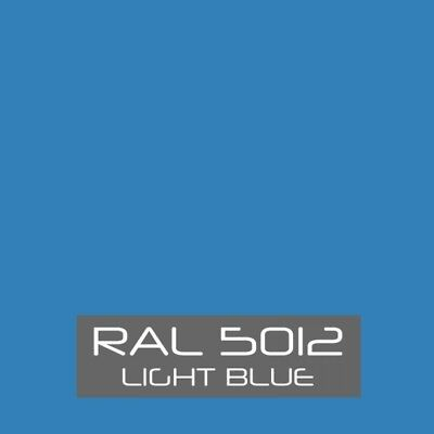 Ral 5012 Light Blue Powder Coating Paint - New 1lb