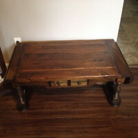 Antique Newfoundland Coffee Table