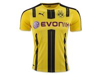 10pcs bulk sale wholesale BVB Borussia Dortmund home away football soccer jersey