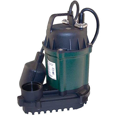 Zoeller Wm49 - 14 Hp Cast Iron Submersible Sump Pump W Tether Float Switch