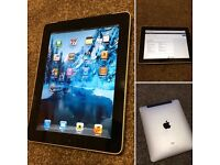 Apple iPad 1 wifi and sim with a free brand new charging dock